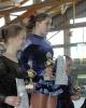 Unterfränkische Meisterschaften: März 2001 in Schweinfurt :: Nathalie Schlepkow und Delphine Nölke